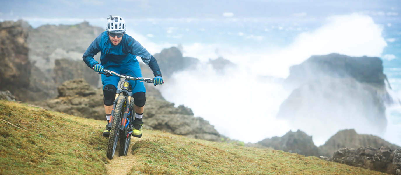 """While other people travel to famous or well-known destinations, we pick countries or regions where no biking movie has been filmed yet,"" Gaspi says. ""Obviously, we were disappointed so many times. What looked as a perfect terrain on photos was often impossible to ride down – the slopes were too steep, the rocks too big, or there was no way to reach the top because of dense vegetation or another obstacle. However, a portion of uncertainty is a part of the adventure, and we have to take the risk,"" he adds."