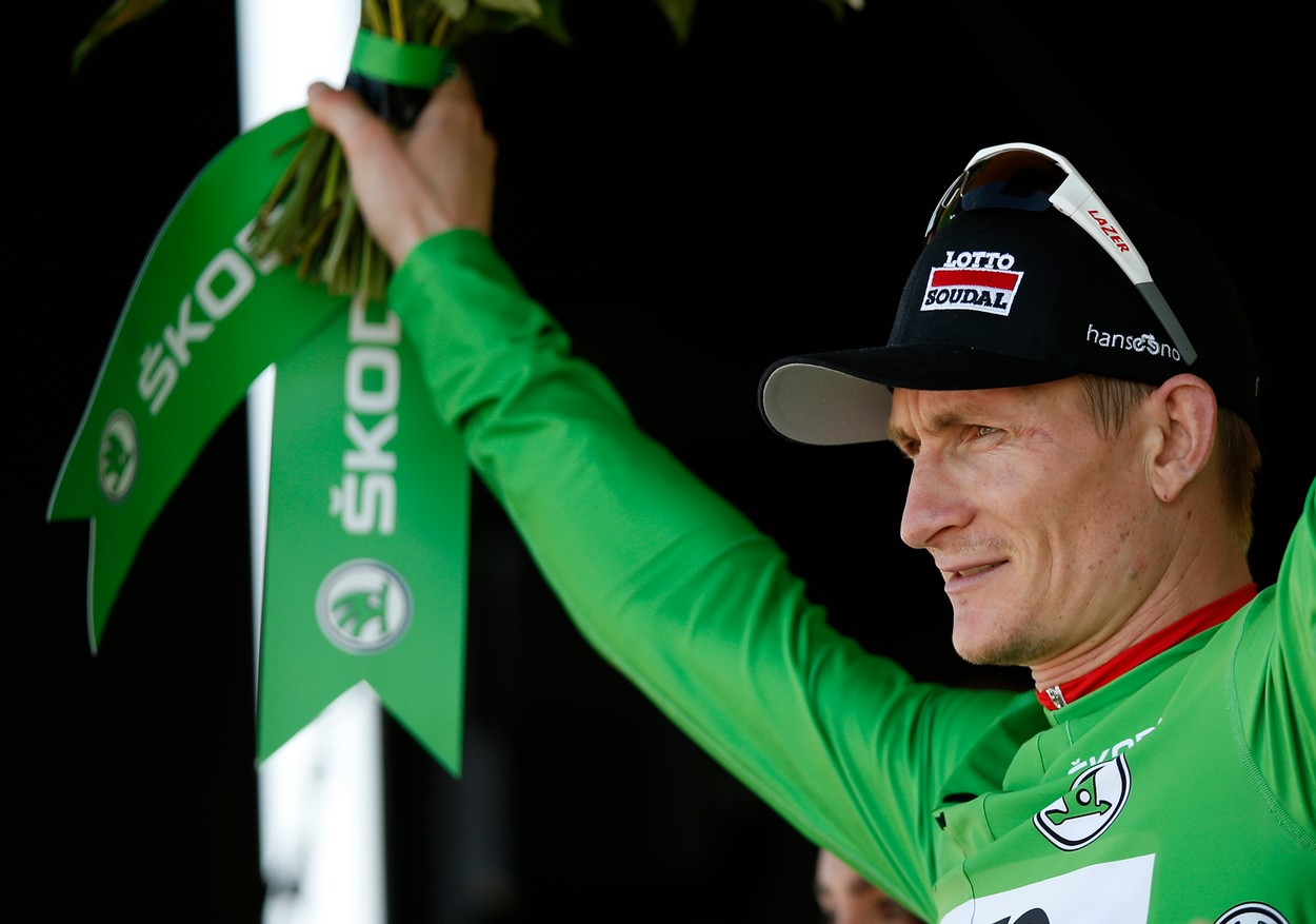 A great endurance athlete has to be able to absorb potential embarrassment and to endure pain without complaint, they have to know that what it comes down to is the ability to just grit your teeth and outlast the rest. Among those most closely acquainted with this feeling? German racer André Greipel. A pure sprinter, Greipel is one of the most prolific cyclists of his era, clocking in more and more miles (and wins) each year.