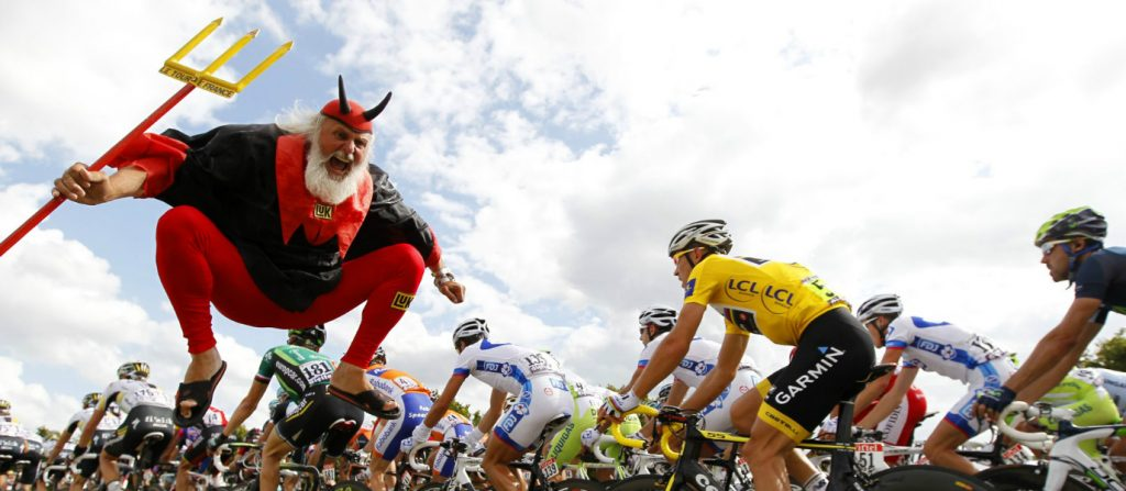 Fans of the Tour de France: Could They Get Any Crazier?